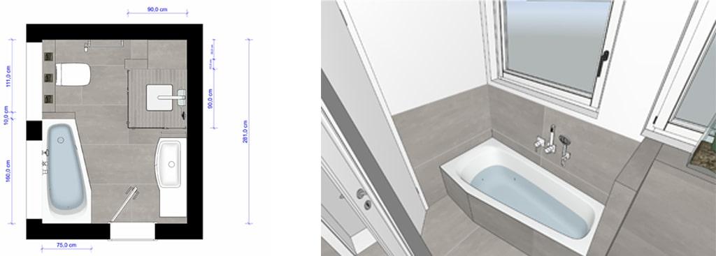 3D Badgestaltung von Stallbaum Sanitaer in Troisdorf