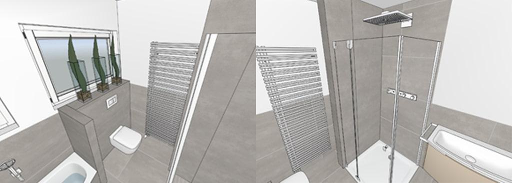3D Badplanung von Stallbaum Sanitaer in Troisdorf